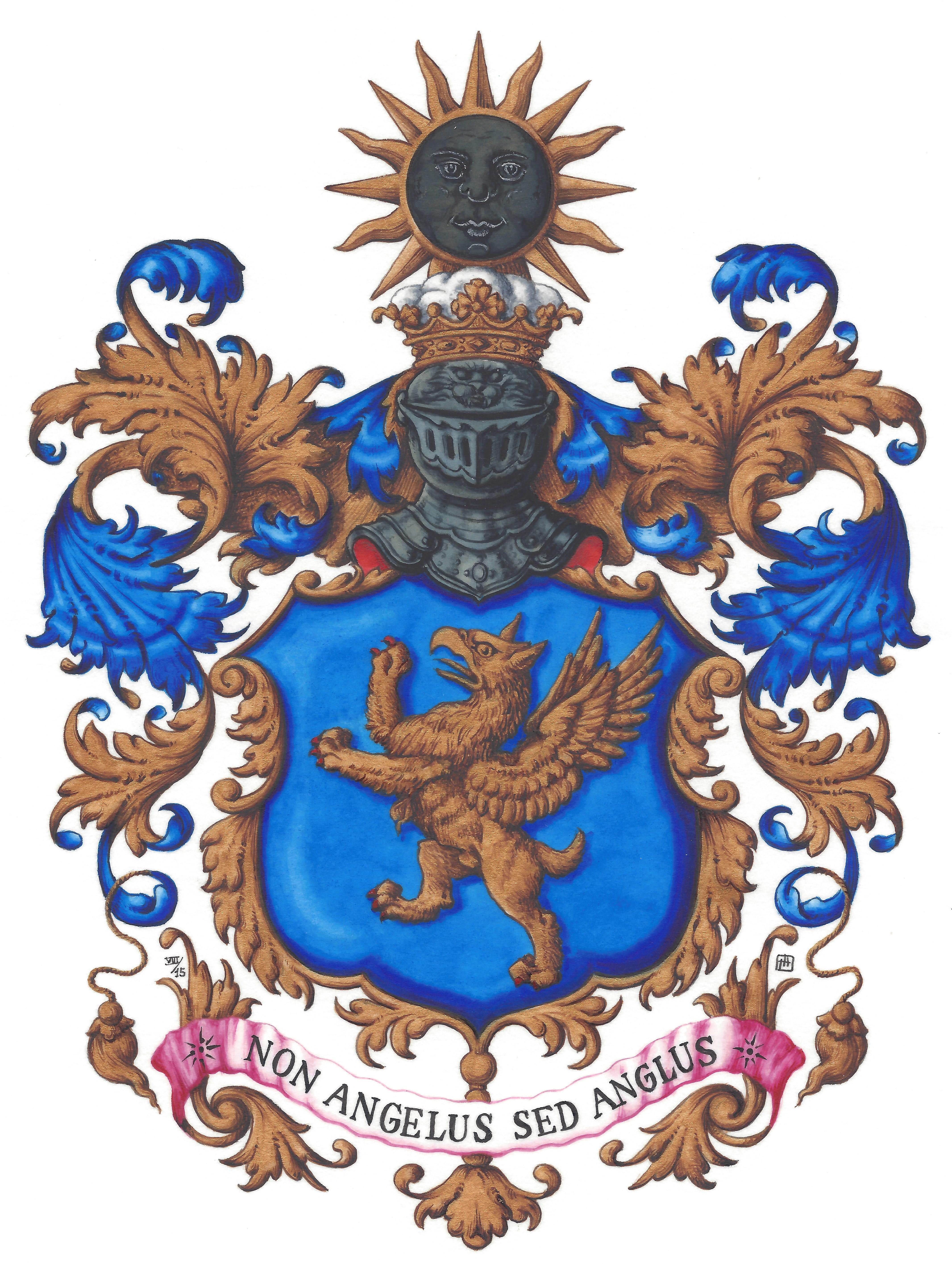 [Family Arms and Crest]